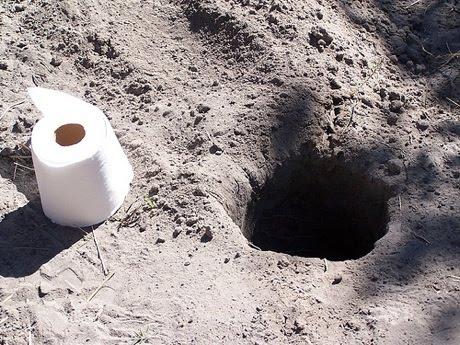Para una urgencia toilet