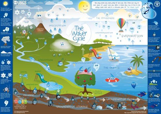 Ciclo del agua de Scouts España